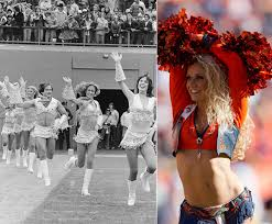 Denver Broncos Cheerleader Halloween Costume Denver Broncos Cheerleaders 1979 U0026 2013 Photos Nfl