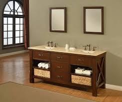 Double Bathroom Vanity Tops by J U0026 J International 70 Inch Double Bathroom Vanity With Beige