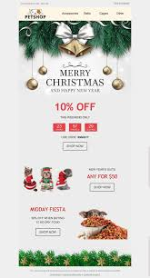 merry email template spirit for pets industry