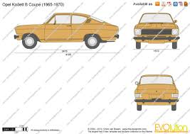1970 opel kadett the blueprints com vector drawing opel kadett b coupe