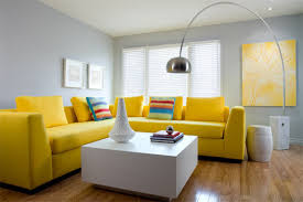 yellow livingroom skillful design yellow living room furniture gray and grey leather