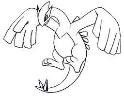pokemon coloring pages lugia coloring pages pokemon lugia drawings pokemon