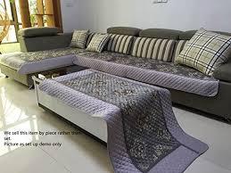 chenille sofa amazon com