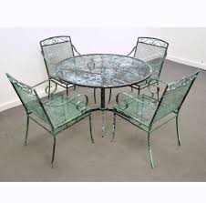 Patio Table And Chairs On Sale Vintage Wrought Iron Patio Set 150 Furniture And Lighting