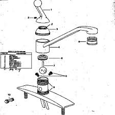 delta kitchen faucets repair parts delta faucet repair parts diagram kitchen simple models skewred