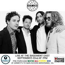 new show september 22 nashville tn dawes