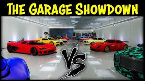 gta 5 online garage vs garage ep 13 best cars competition gta 5 online garage vs garage ep 13 best cars competition