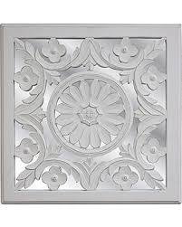 get the deal fetco home decor wall art meryl white mirrored