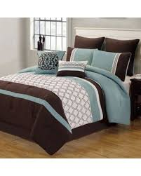 Queen Comforter Sets On Sale Black Friday Sales On Tolbert 8 Piece Queen Comforter Set In Blue