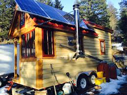 solar tumbleweed tiny house swoon a 200 square feet off grid