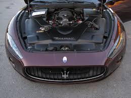 maserati bordeaux 2009 maserati granturismo s gts super rare f430 engine and 599 f1