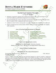 Teaching Resume Example by Samples Of Teachers Resumes Experience Resumes