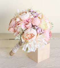 Silk Wedding Bouquet Beautiful Bountiful Wedding Bouquets With Peonies Bridal Bouquet