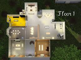 Halliwell Manor Floor Plans by Mod The Sims The Cullen House