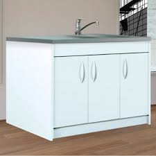 meuble de cuisine sous evier meuble cuisine evier integre 3 poser gouttoir et bac en