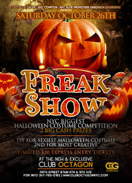 7days7nights com freak show the biggest halloween costume party