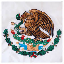 Mexixan Flag Mexico 3x5ft Nylon Flag With Pole Hem Only Banner