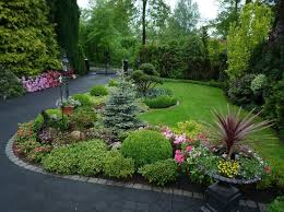 Backyard Corner Landscaping Ideas 17 Best Corner Lot Landscape Images On Pinterest Landscaping