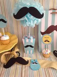 baby shower mustache theme mustache centerpiece treat goody bag babyshowerteman