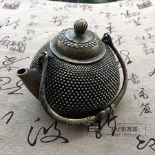 miscellaneous antiques antique brass teapot collection pearl