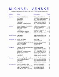 theatrical resume template singer resume template pastor sle berathen pastoral musical
