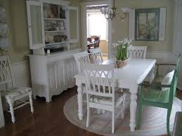 beautiful cottage dining room with round rug dining room ideas
