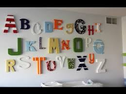 Letter Wall Decor Fashionable Inspiration Letters Wall Decor Decoration