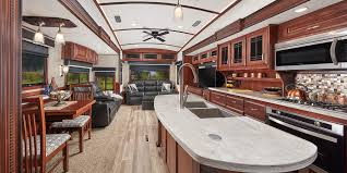Top Of The Line Kitchen Cabinets by 2018 Luxury Fifth Wheel Jayco Inc