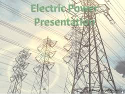 ppt templates for electrical engineering electric grid powerpoint templates