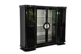 Armoire With Glass Doors 1920s Art Deco Armoire Cabinet From Paris Original Antique