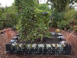wine bottle garden wall gardensdecor com