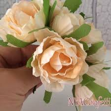 Fake Peonies Online Shop 6pcs Multicolor Real Touch Peony Artificial Silk Roses
