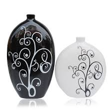 Home Decor Vase Home Decor Decoration Black And White Vase From Jingdezhen