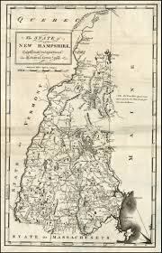 New Hampshire State Map by The State Of New Hampshire Compiled Chiefly From Actual Sureys