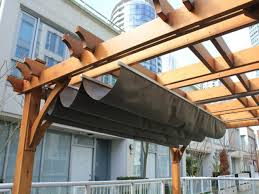 retractable pergola canopy cover bestpergolaideas com yard
