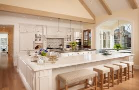 Kitchen With L Shaped Island Country Home 02 Traditional Kitchen Salt Lake City By