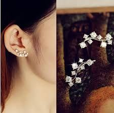 aliexpress buy new arrival hight quality white gold aliexpress buy new arrival olive branch design earring white