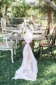 tulle table runner chic ballet inspired wedding