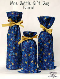 wine bottle gift bags wine bottle gift bag tutorial scattered thoughts of a crafty