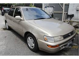 toyota corolla sedan 1993 toyota corolla 1993 se 1 3 in selangor manual sedan gold for rm