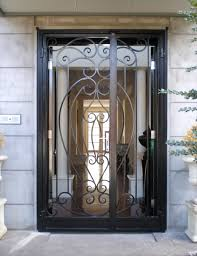 ornamental iron security doors wrought iron doors bayswater