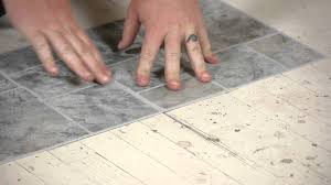 Bathroom Tile Flooring by How To Lay Vinyl Tiles On Top Of Old Flooring Flooring Help