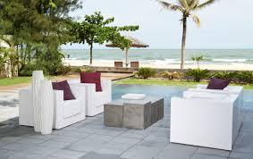 contemporary coffee table concrete cube garden magic cube
