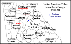 Chattahoochee River Map The Mysterious Bohuron Tribe In Northeast Georgia Native