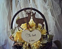 buck and doe wedding cake topper deer cake topper etsy
