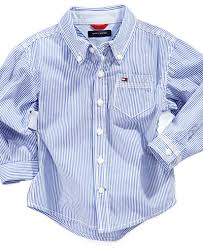 tommy hilfiger baby shirt baby boys long sleeve stripe shirt