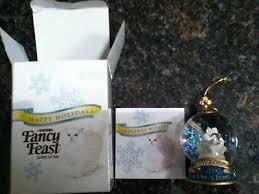 2006 fancy feast cat ornament brand new in box 18 95