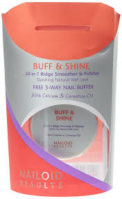 nailoid all in one buff and shine 15g amazon co uk beauty