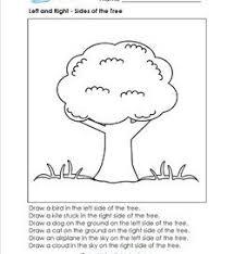 positional words worksheets for kindergarten and first grade