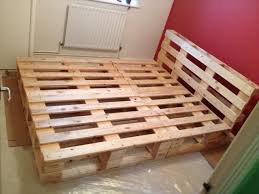 How To Make A Platform Bed Frame With Drawers by The 25 Best Pallet Bed Frames Ideas On Pinterest Diy Pallet Bed